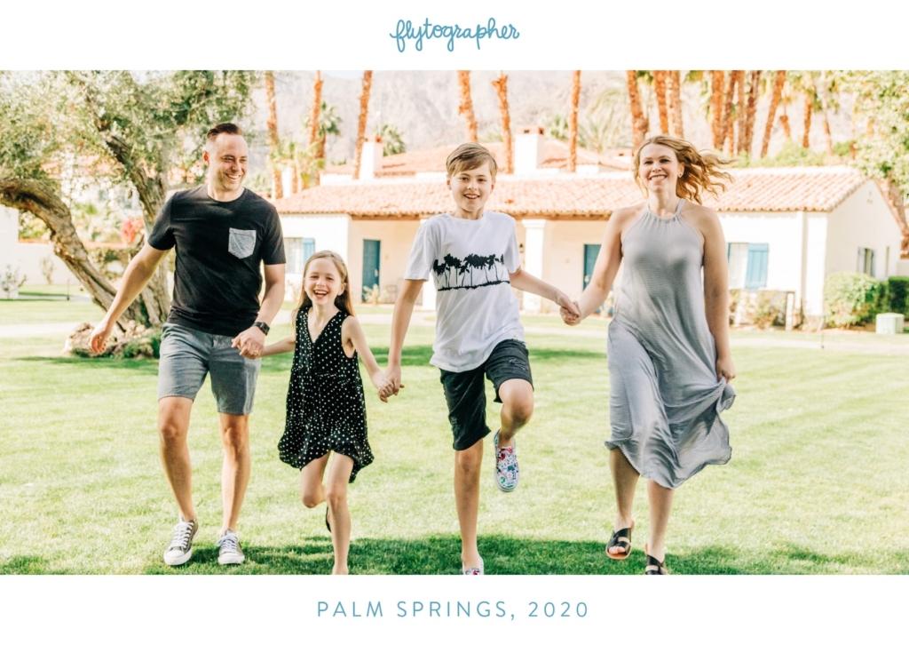 Flytographer in Palm Springs