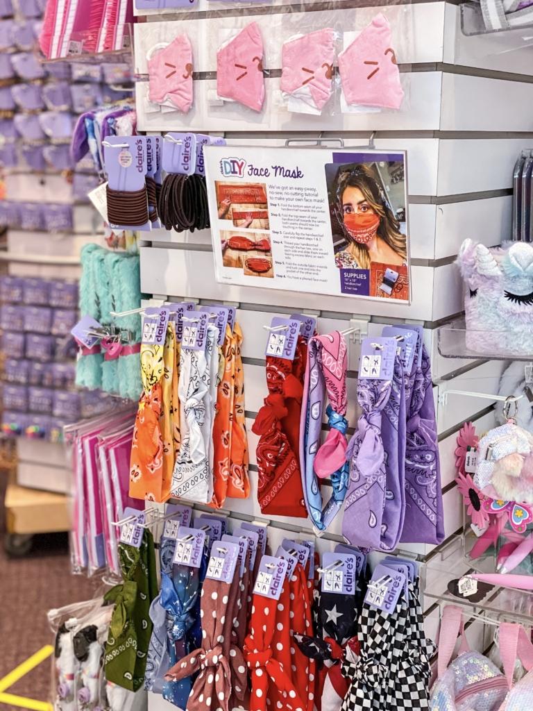 Face masks at Kingsway Mall