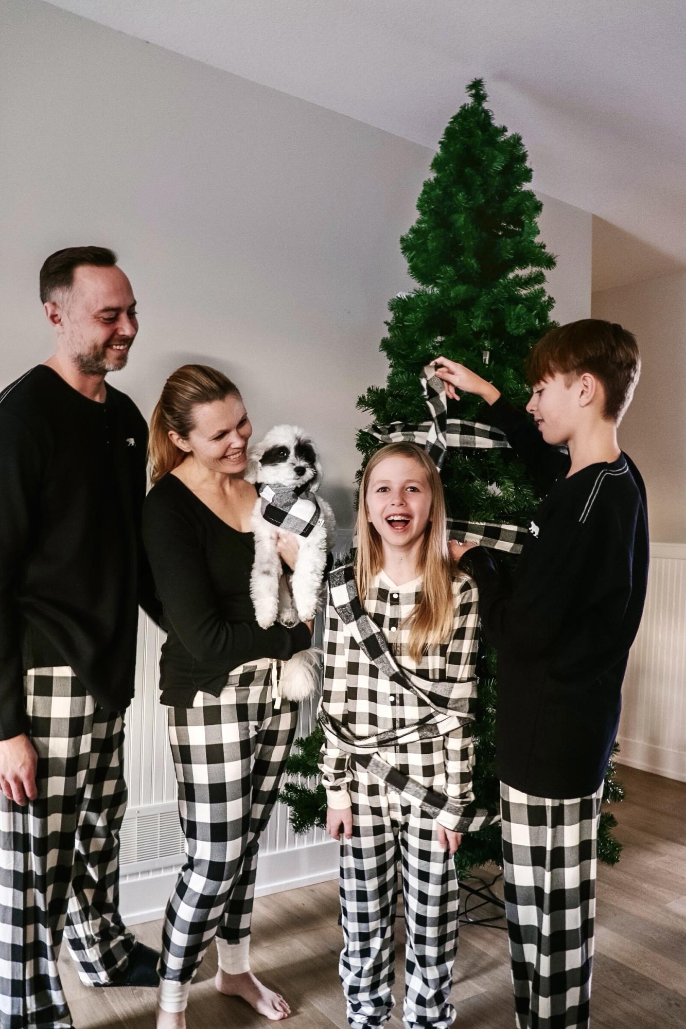 Little Blue House Family Pajamas