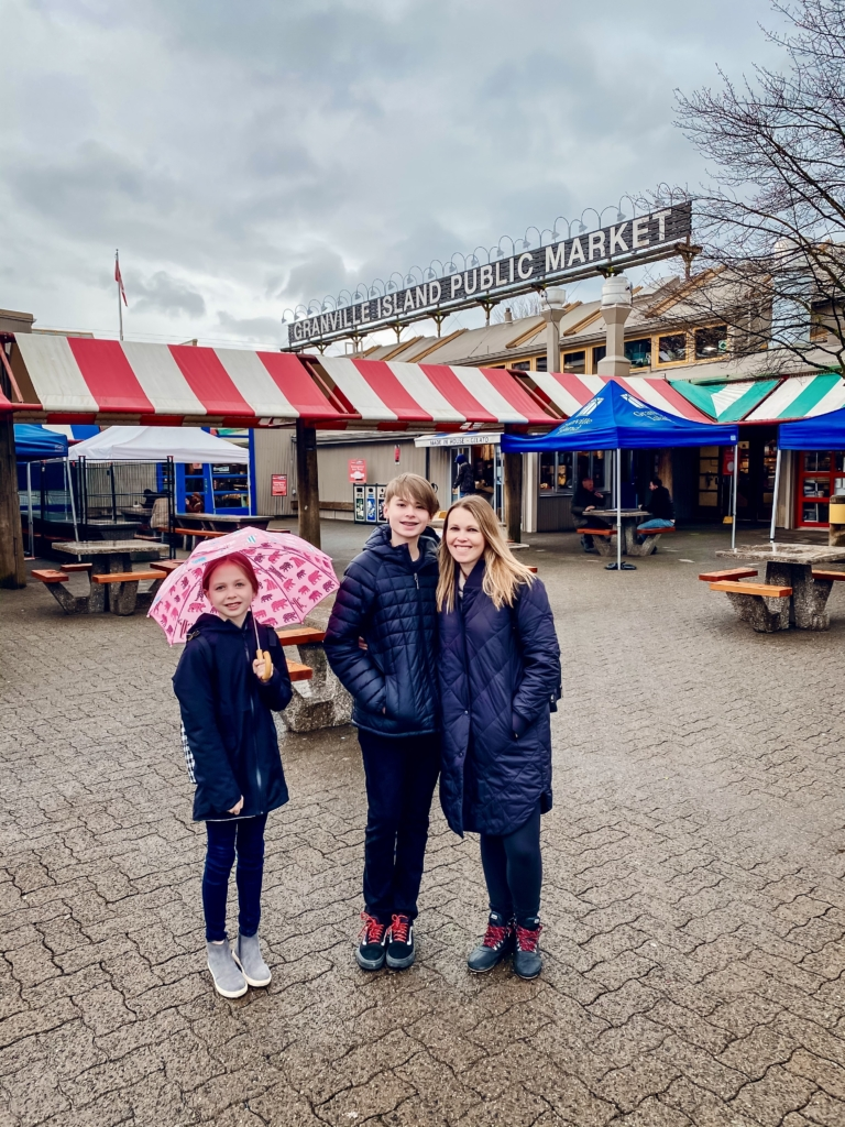 Granville Island with kids